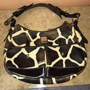Dooney & Bourke giraffe print purse